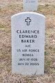 Profile photo:  Clarence Edward Baker
