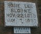 Rosie Lee Blount
