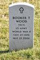 Profile photo:  Booker T. Wood