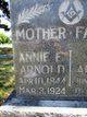Profile photo:  Annie E Arnold