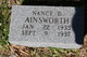 Nancy D Ainsworth