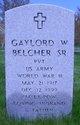 Gaylord W Belcher, Sr