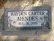 Hayden Carter Mendes