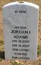 Profile photo:  Jordan I Adams