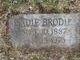 Sadie <I>Lippincott</I> Brodie