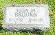 William Lee Brooks
