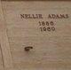 "Profile photo:  Nellie ""Nielsine"" <I>Jensen</I> Adams"