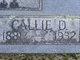 "Profile photo:  Caledonia ""Callie"" <I>Downs</I> Parrish"