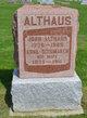 Anna <I>Schumaker</I> Althaus