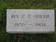 Rev Christopher Tinsley Ogilvie