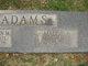 Maude E <I>Poston</I> Adams