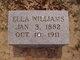 Mary Ella <I>Palmer</I> Williams