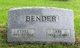 "Profile photo:  Abram M. ""Abe"" Bender"