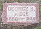 Profile photo:  George H Agge