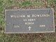 William M Bowling