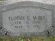 Flossie E McBee