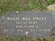 Willie Hill Finley