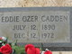 Profile photo:  Eddie Ozer Cadden