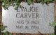 Profile photo:  Eva Joe <I>Wright</I> Carver