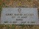 Profile photo:  Jerry David McCoy