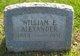 William E Alexander