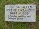 Geneva <I>Langley</I> Allen