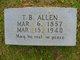Thomas Benjamin Allen