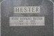 Ruth Idel <I>Hopkins</I> Hester