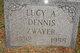 Lucy A. <I>Mayer</I> Dennis