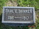 Profile photo:  Paul Edward Banker