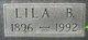 "Lila Bell ""Lila"" <I>Offenbacker</I> Meadows"
