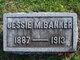 Profile photo:  Jesse May <I>Neal</I> Banker