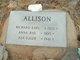 Profile photo:  Asa E. Allison