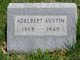 Profile photo:  Adelbert Austin