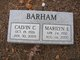 Marilyn Edith <I>Seals</I> Barham