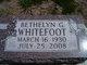 Profile photo:  Bethelyn G. <I>Baum</I> Whitefoot
