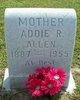 """Profile photo:  Adeline Rebecca """"Addie"""" <I>Moon</I> Allen"""
