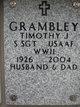 Profile photo:  Timothy J Grambley