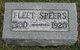 James Fleet Speer