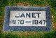 Janet <I>Beveridge</I> Bell