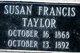 Susan Francis <I>Easley</I> Taylor