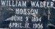 William Walter Hobson