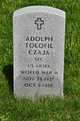 Profile photo:  Adolph Toeofil Czaja