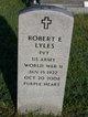 Ernest Robert Lyles