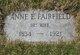 Anne <I>Fairfield</I> Kittredge