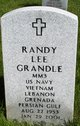 Randy Lee Grandle