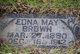 Profile photo:  Edna Mae <I>De Frate</I> Brown