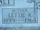 Lettie R. Kinney