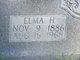 Elma H. <I>Huffman</I> Rose