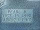 Pearl H Rose